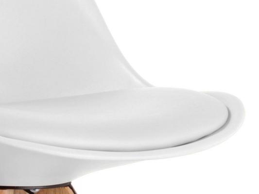 Coussin PU blanc intégré