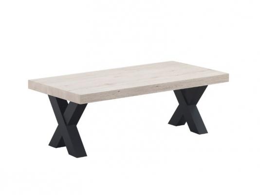 Table de salon avec pieds en X