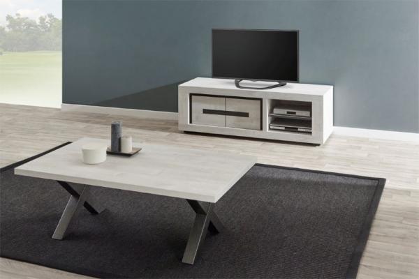 Meuble TV et table de salon assortis