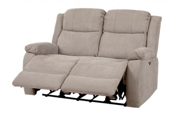 Canapé 2 places relax entrouverts