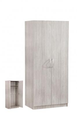 Garde-robe 2 portes