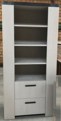 Meuble étagère avec 2 tiroirs